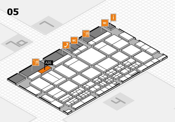 CARAVAN SALON 2017 Hallenplan (Halle 5): Stand A35