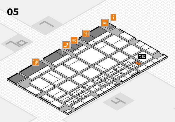 CARAVAN SALON 2017 hall map (Hall 5): stand D10