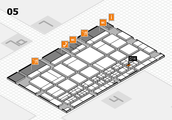 CARAVAN SALON 2017 Hallenplan (Halle 5): Stand D14