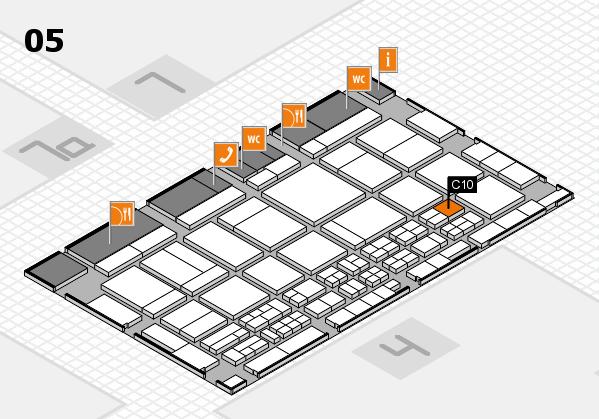 CARAVAN SALON 2017 Hallenplan (Halle 5): Stand C10