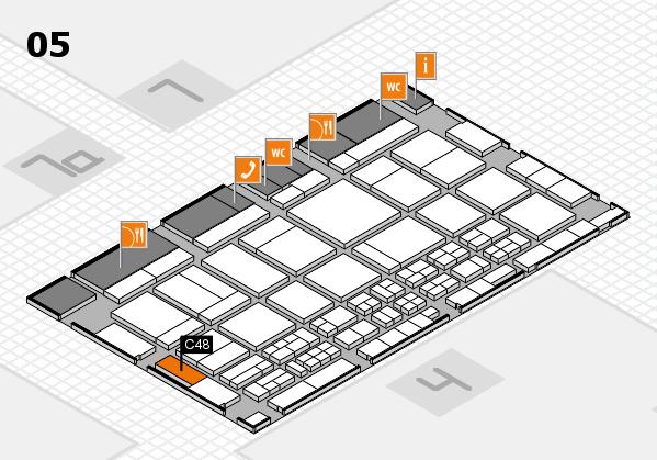 CARAVAN SALON 2017 hall map (Hall 5): stand C48