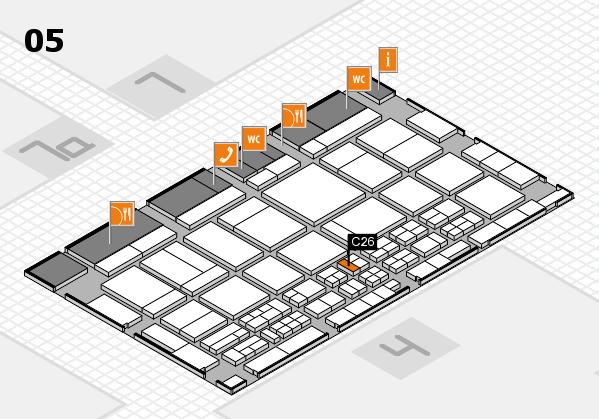 CARAVAN SALON 2017 hall map (Hall 5): stand C26