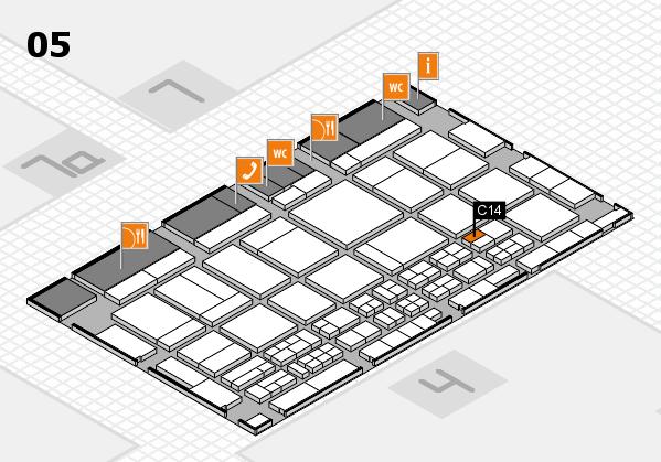 CARAVAN SALON 2017 Hallenplan (Halle 5): Stand C14
