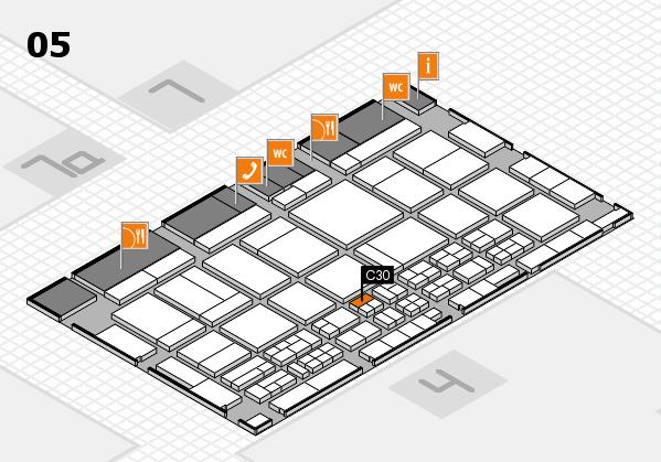 CARAVAN SALON 2017 hall map (Hall 5): stand C30