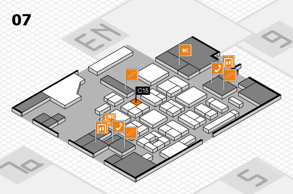 CARAVAN SALON 2017 hall map (Hall 7): stand C15