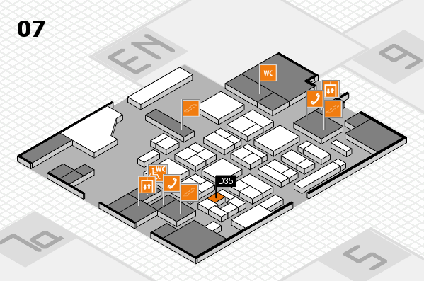 CARAVAN SALON 2017 hall map (Hall 7): stand D35