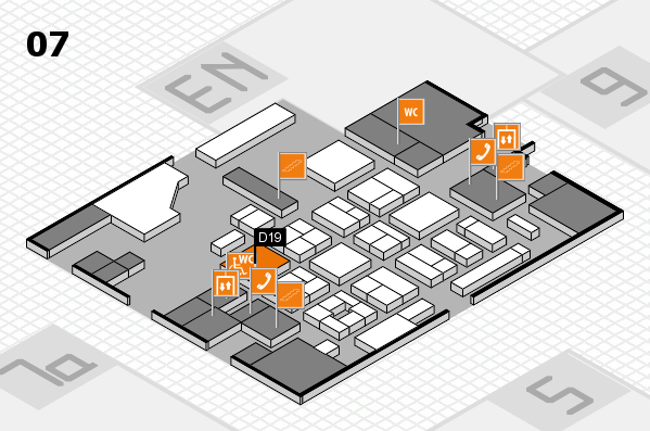 CARAVAN SALON 2017 hall map (Hall 7): stand 0D19