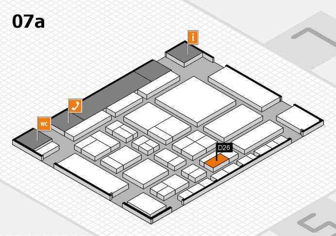 CARAVAN SALON 2017 hall map (Hall 7a): stand D26