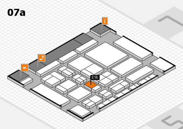 CARAVAN SALON 2017 hall map (Hall 7a): stand E18