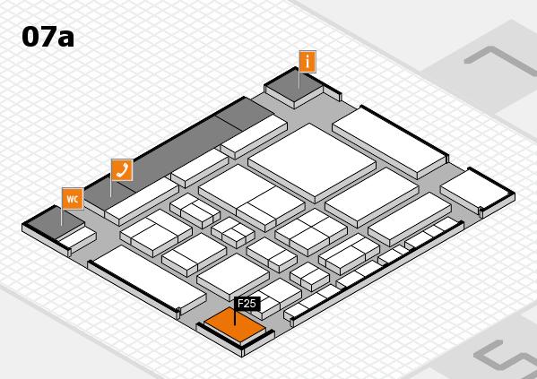 CARAVAN SALON 2017 hall map (Hall 7a): stand F25