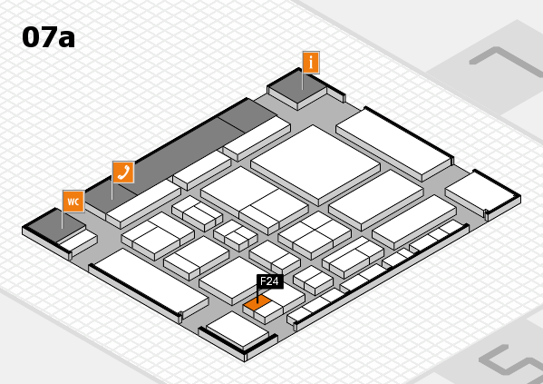 CARAVAN SALON 2017 hall map (Hall 7a): stand F24