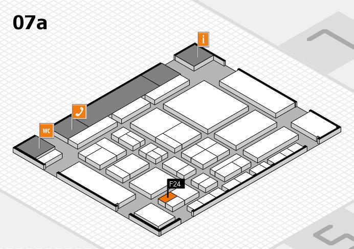 CARAVAN SALON 2017 Hallenplan (Halle 7a): Stand F24