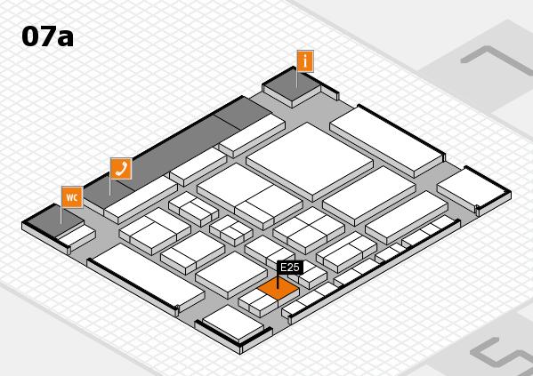 CARAVAN SALON 2017 hall map (Hall 7a): stand E25