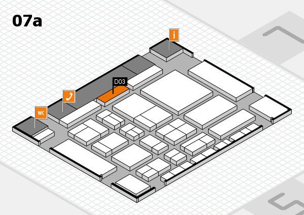 CARAVAN SALON 2017 hall map (Hall 7a): stand D03