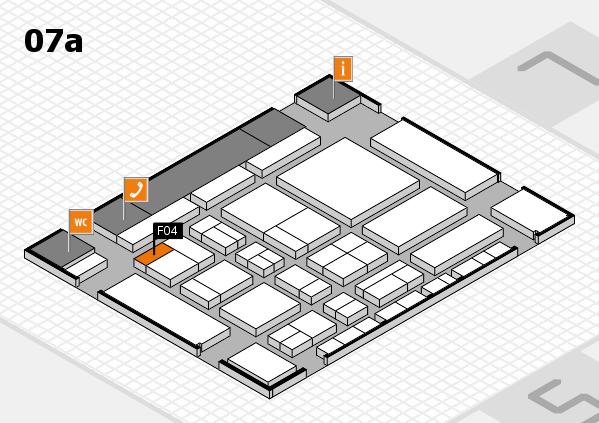 CARAVAN SALON 2017 hall map (Hall 7a): stand F04