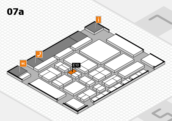 CARAVAN SALON 2017 hall map (Hall 7a): stand E10