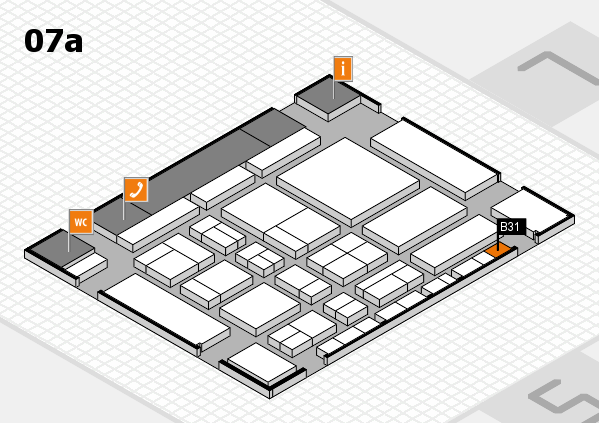 CARAVAN SALON 2017 hall map (Hall 7a): stand B31