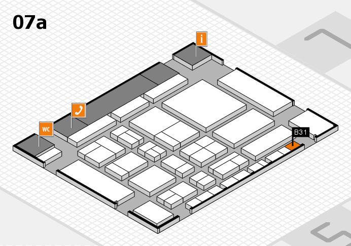 CARAVAN SALON 2017 Hallenplan (Halle 7a): Stand B31