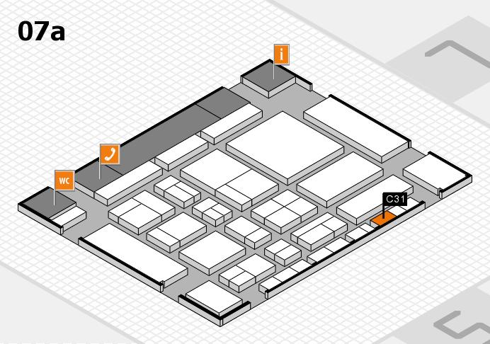 CARAVAN SALON 2017 Hallenplan (Halle 7a): Stand C31