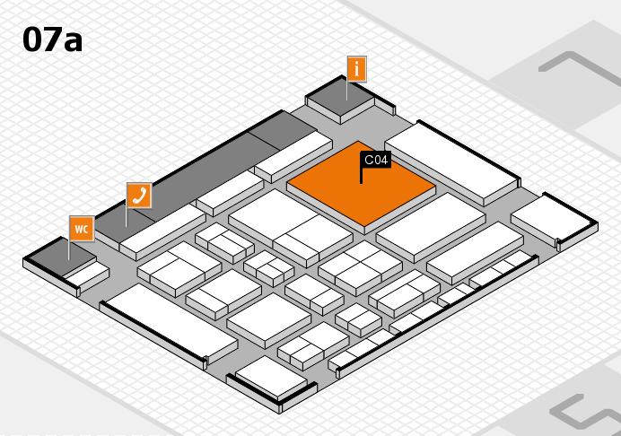 CARAVAN SALON 2017 Hallenplan (Halle 7a): Stand C04