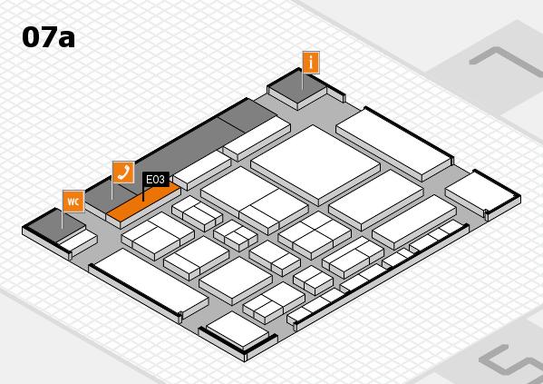 CARAVAN SALON 2017 Hallenplan (Halle 7a): Stand E03
