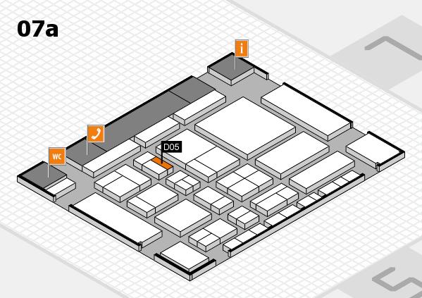 CARAVAN SALON 2017 Hallenplan (Halle 7a): Stand D05