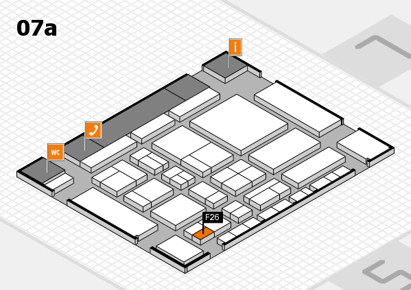 CARAVAN SALON 2017 hall map (Hall 7a): stand F26