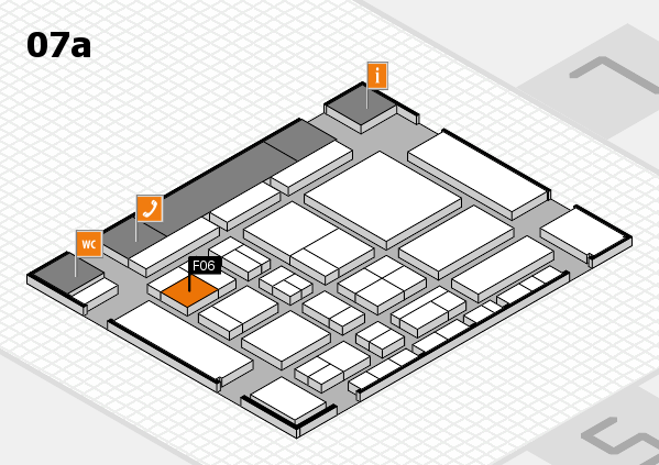 CARAVAN SALON 2017 hall map (Hall 7a): stand F06