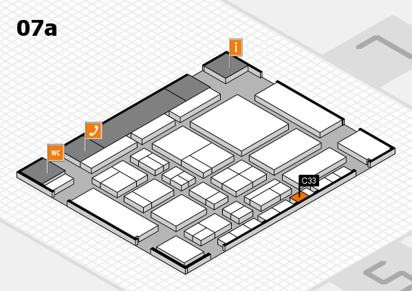 CARAVAN SALON 2017 hall map (Hall 7a): stand C33