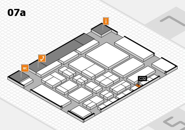 CARAVAN SALON 2017 hall map (Hall 7a): stand C32