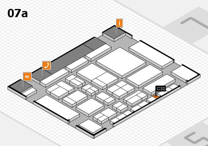 CARAVAN SALON 2017 Hallenplan (Halle 7a): Stand C32