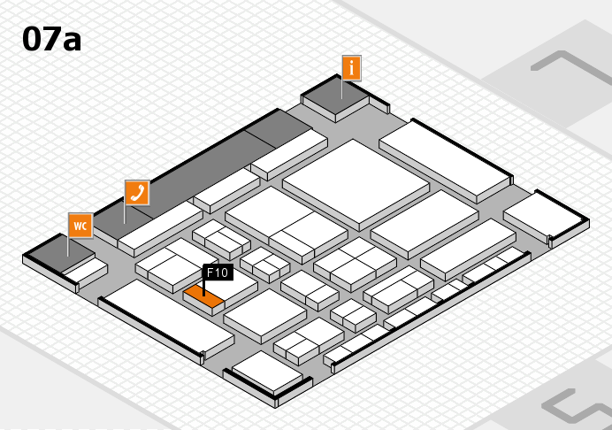 CARAVAN SALON 2017 Hallenplan (Halle 7a): Stand F10