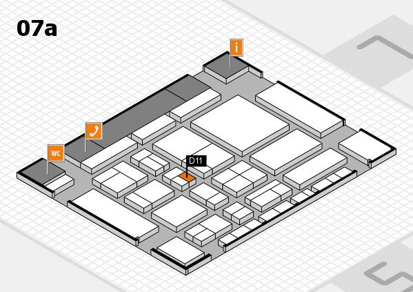 CARAVAN SALON 2017 hall map (Hall 7a): stand D11