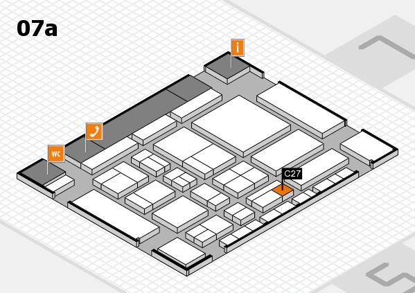 CARAVAN SALON 2017 Hallenplan (Halle 7a): Stand C27