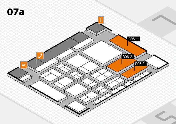 CARAVAN SALON 2017 hall map (Hall 7a): stand B06-1, stand B06-3