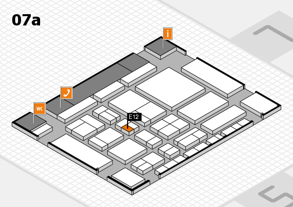 CARAVAN SALON 2017 hall map (Hall 7a): stand E12