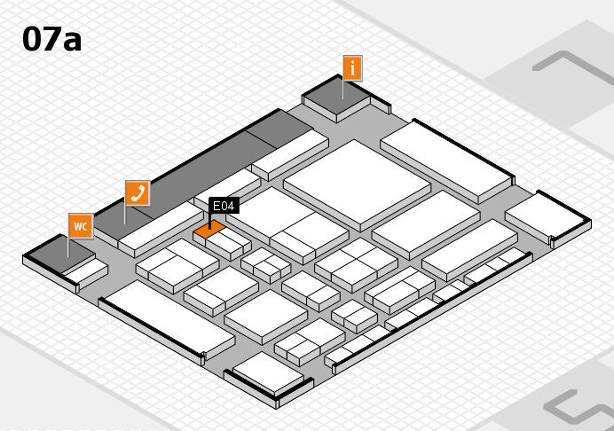 CARAVAN SALON 2017 Hallenplan (Halle 7a): Stand E04