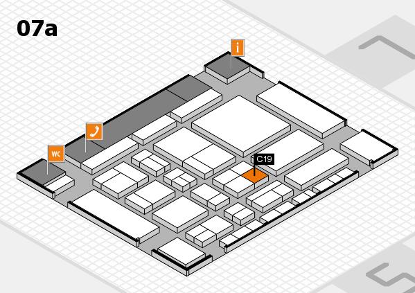 CARAVAN SALON 2017 Hallenplan (Halle 7a): Stand C19