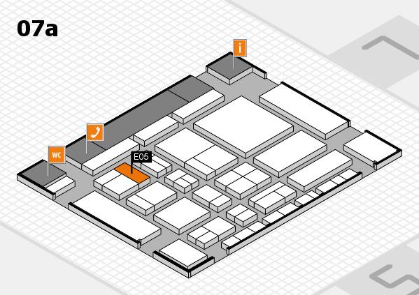 CARAVAN SALON 2017 Hallenplan (Halle 7a): Stand E05