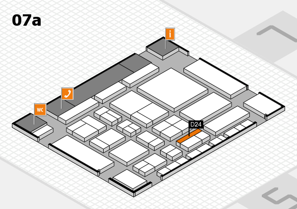 CARAVAN SALON 2017 Hallenplan (Halle 7a): Stand D24