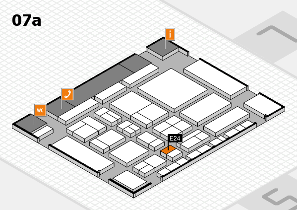 CARAVAN SALON 2017 hall map (Hall 7a): stand E24