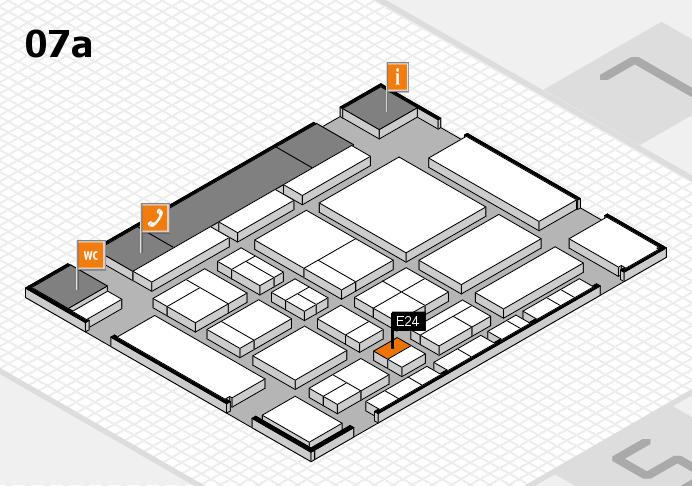 CARAVAN SALON 2017 Hallenplan (Halle 7a): Stand E24