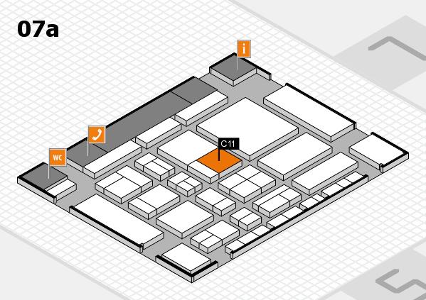 CARAVAN SALON 2017 hall map (Hall 7a): stand C11