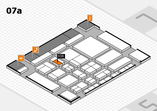 CARAVAN SALON 2017 hall map (Hall 7a): stand E06