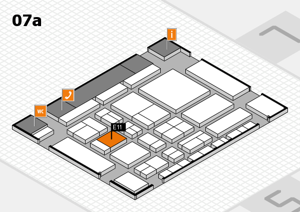CARAVAN SALON 2017 hall map (Hall 7a): stand E11