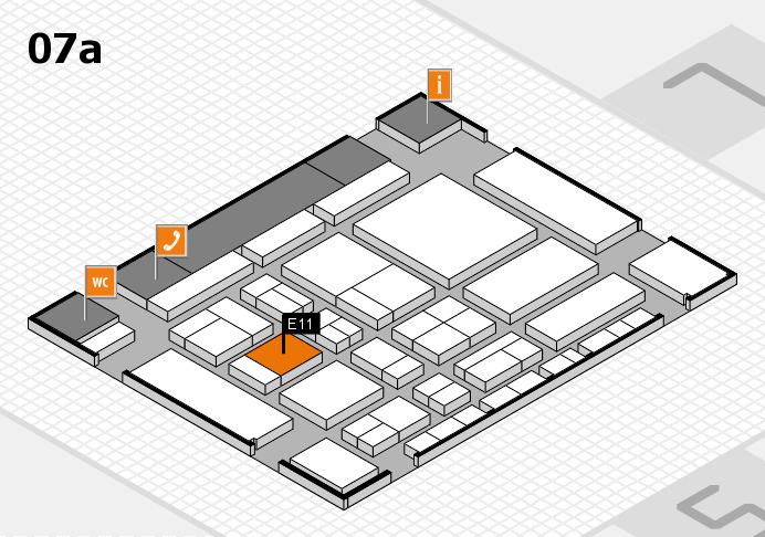 CARAVAN SALON 2017 Hallenplan (Halle 7a): Stand E11