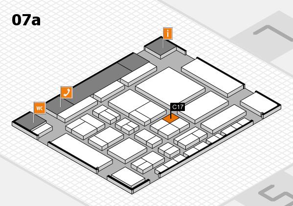 CARAVAN SALON 2017 hall map (Hall 7a): stand C17