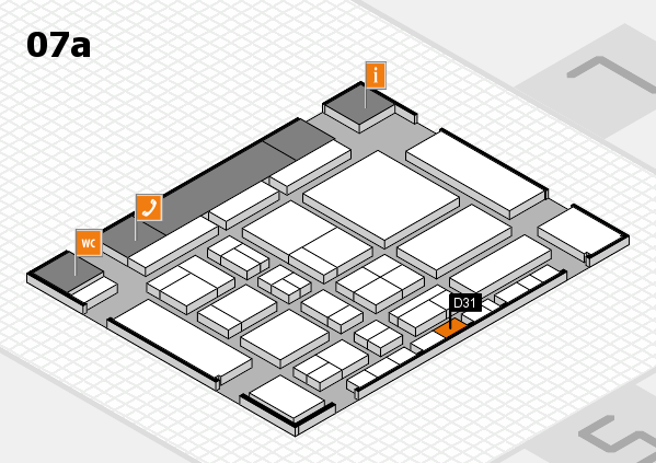 CARAVAN SALON 2017 hall map (Hall 7a): stand D31