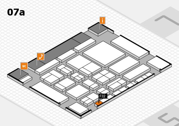 CARAVAN SALON 2017 hall map (Hall 7a): stand F32