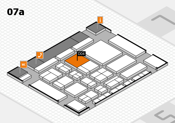 CARAVAN SALON 2017 hall map (Hall 7a): stand D04